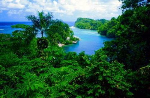 Le Lagon Bleu En Jamaïque Silence On Tourne Entrez