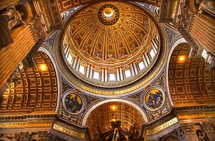 Petersdom Rom Italien  Kostenlose Attraktionen in der ganzen Welt