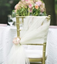 20 Inspring and Affordable Wedding Chair Decorations ...