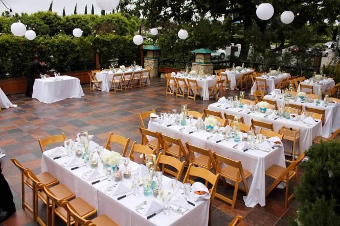 Unique Spring Outdoor Wedding Table Setup