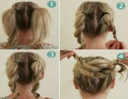 bun hairstyles with