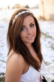 straight wedding hair inspirations