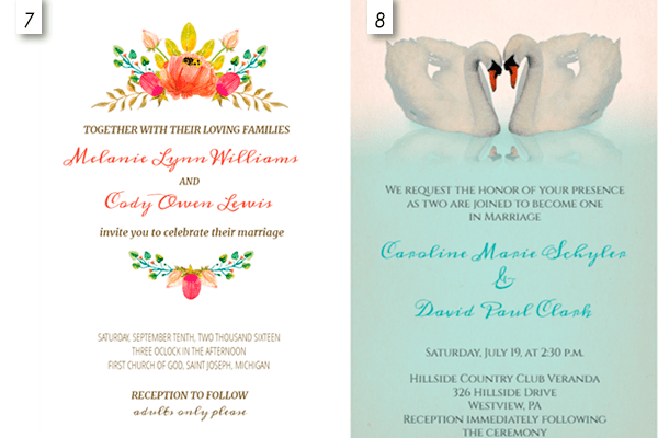 12 Editable Wedding Invitation Templates Free Download