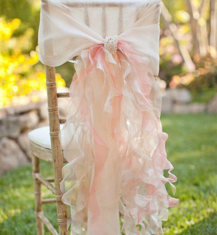 wedding decorations chairs receptions sling chair replacement fabric canada 20 inspring and affordable everafterguide ruffles