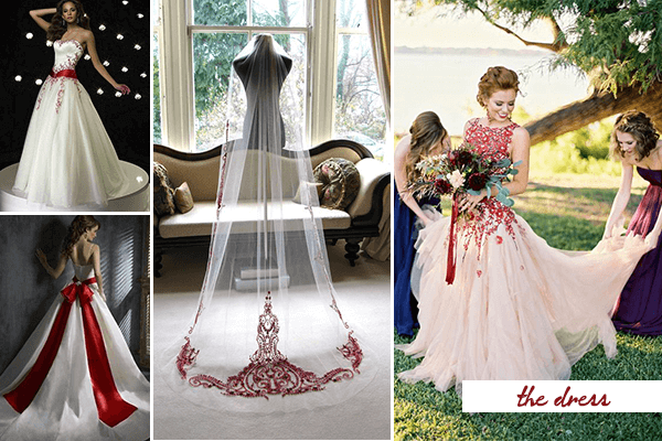 Passion And Love 20 Fabulous Red And White Wedding Ideas