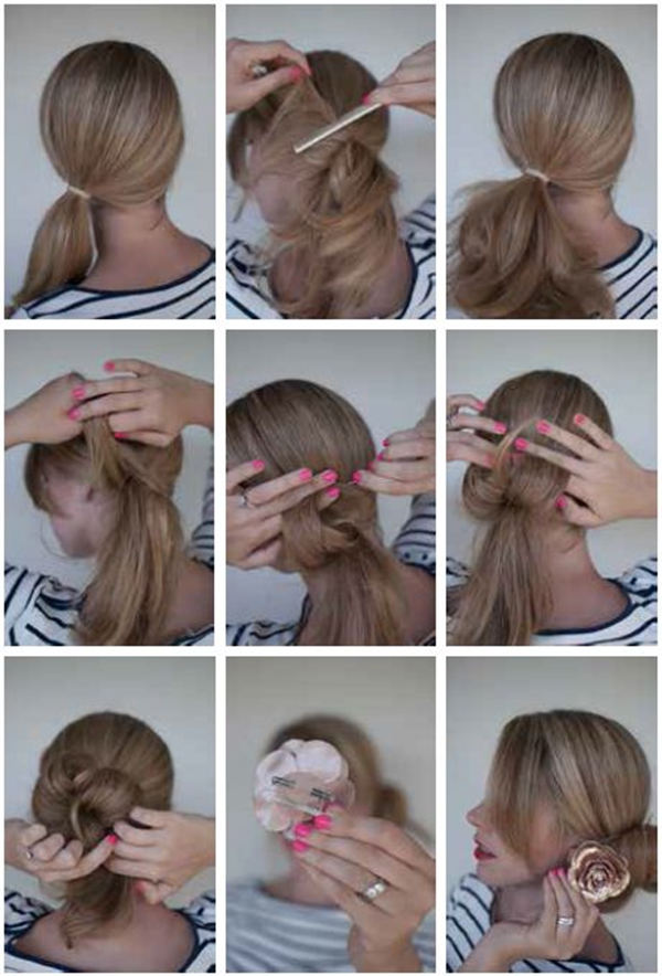 Bun Hairstyles For Your Wedding Day With Detailed Steps