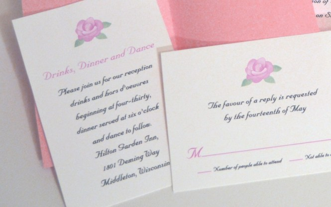 4 Steps For Creating Your Wedding Invitation Stationery Suite