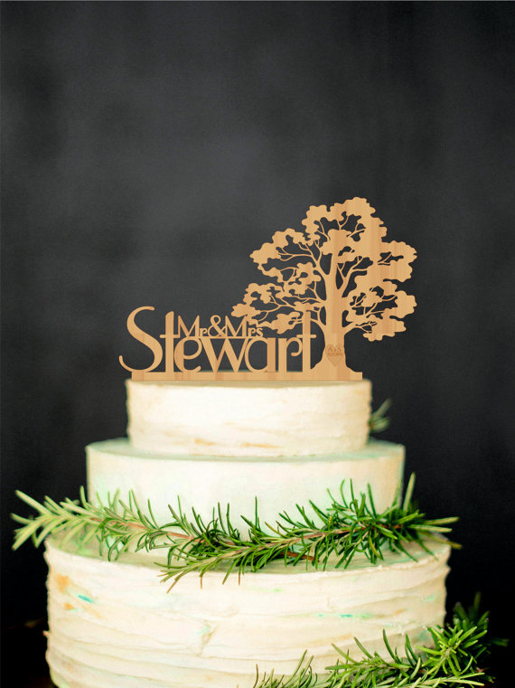 20 Unique Wedding Cake Toppers  EverAfterGuide
