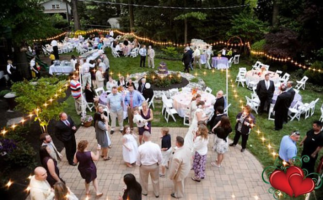 Home Wedding Catering Ideas Small Reception At Country G