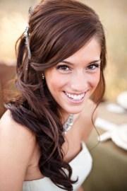 flattering bridesmaid hairstyles