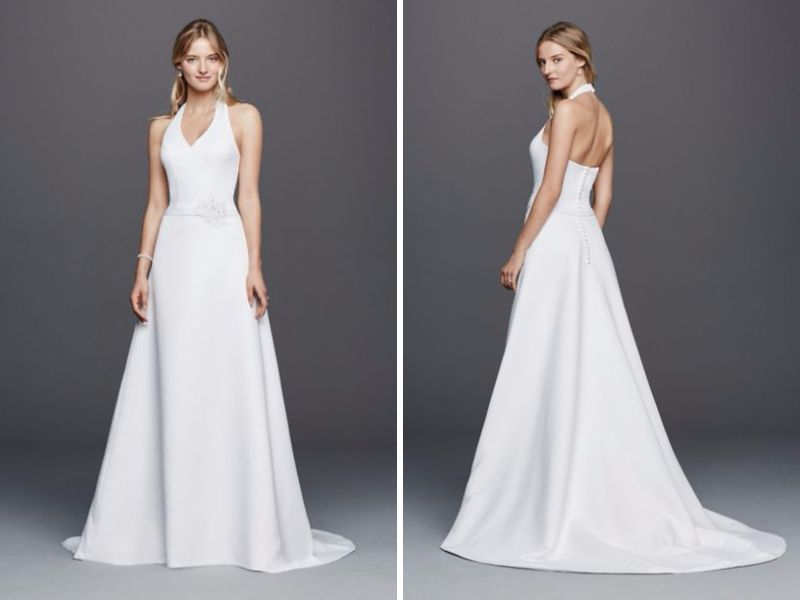 Halter Wedding Dresses Basics And Recommendations