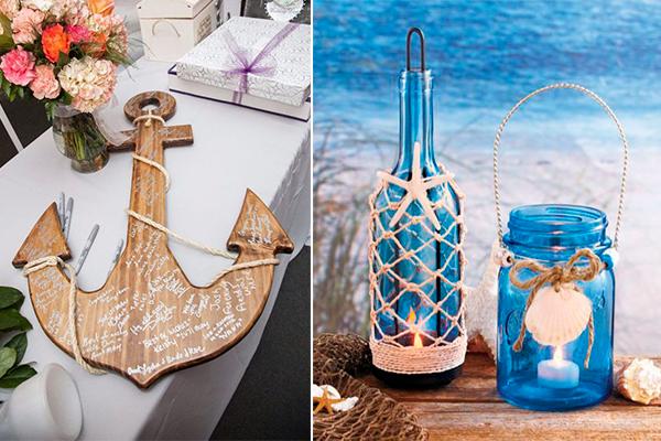 Marvelous Beach Theme Bridal Shower Table Decoration Ideas