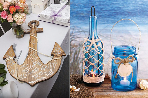 Easy And Fun: Beach Themed Bridal Shower Ideas