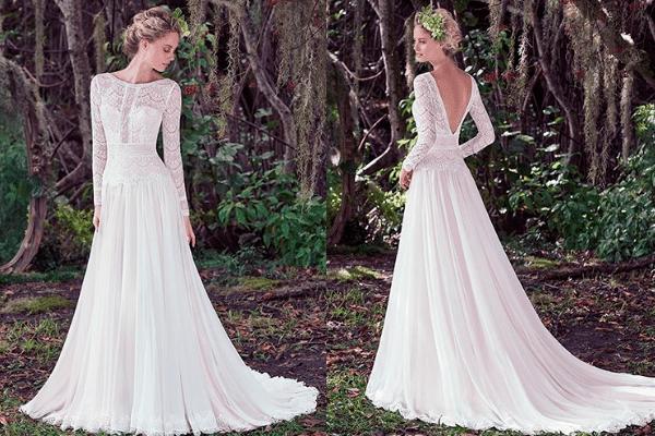 14 Best Rustic Wedding Dresses