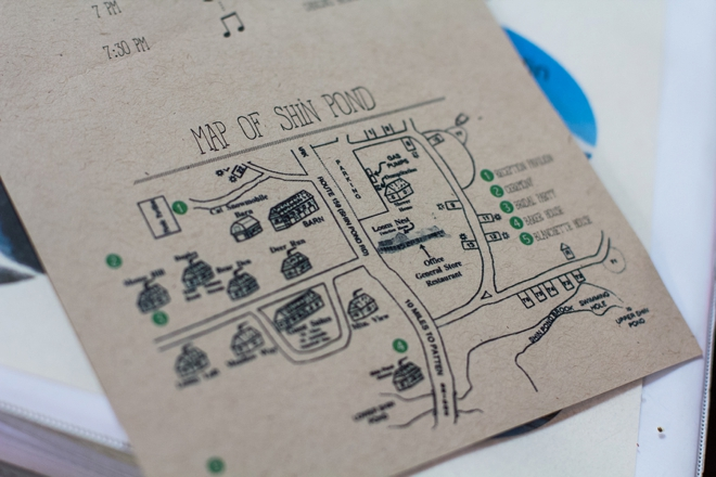 Ilrated Map Party Or Wedding Invitation