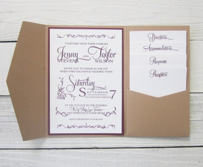 How To Make Pocket Invitations A Simple Guide Everafterguide