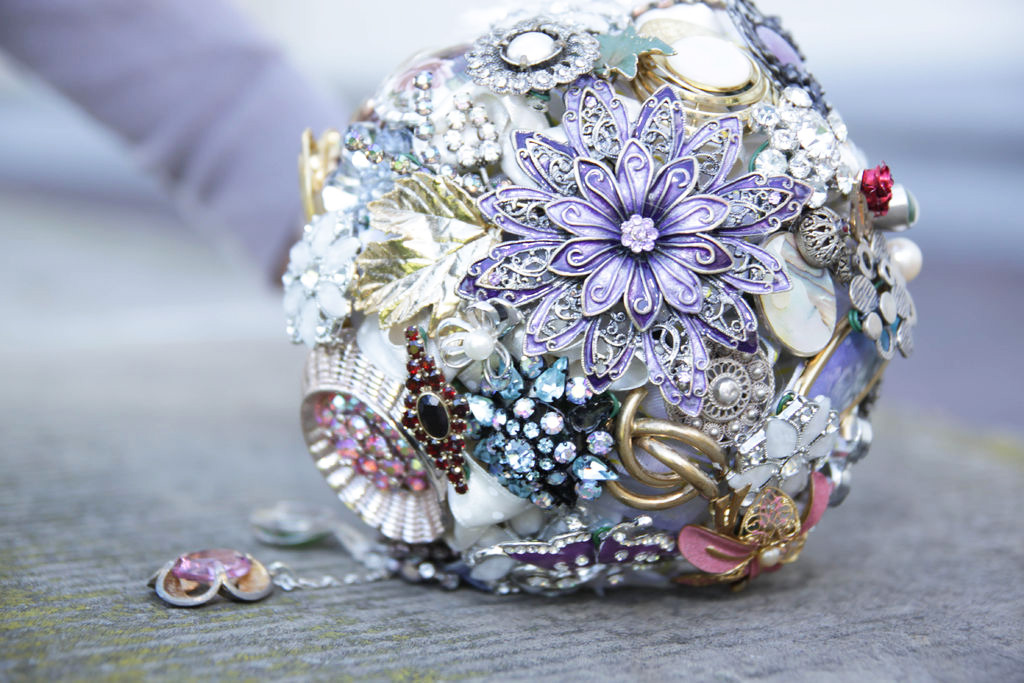 How to Make a Brooch Bouquet  A Step by Step Guide