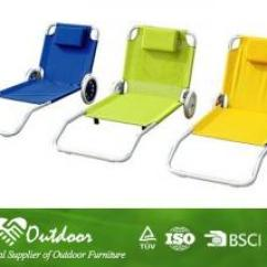 Beach Chair With Wheels Best Patio Chairs Comfortable Iron Sun Loungers Folding Pad