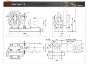 Elevator Parts Source , Elevator Traction Motor For Room