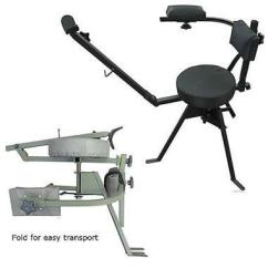 Hunting Seats And Chairs Grey Fabric Dining Lightweigh 360 Adjustable Shooting Chair Durable Images