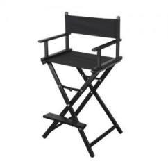 Makeup Chairs Disability Furniture Foldable Mac Chair Black Lightweight Artist