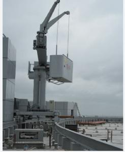 Building Maintenance Unit. Window Cleaning Gondola. Telescopic Mast BMU System for sale – BMU System manufacturer from china (91435861).
