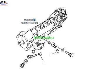 KOMATSU EXCAVATOR PC200-6 fuel injector pump for sale