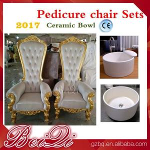 high back wedding chairs king throne pedicure chair foot