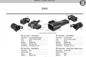 15300027 (DELPHI ) Wiring harness custom export processing
