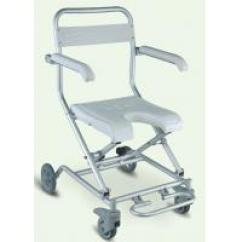 Shower Chair Malaysia Barcelona Cushions And Straps Foldable Manufacturers China Aluminum Four Wheels With Brake Portable Frame On Sale