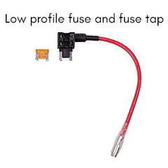 Low Profile 10.9mm Zinc Alloy Mini Blade Fuse Rated 32VDC