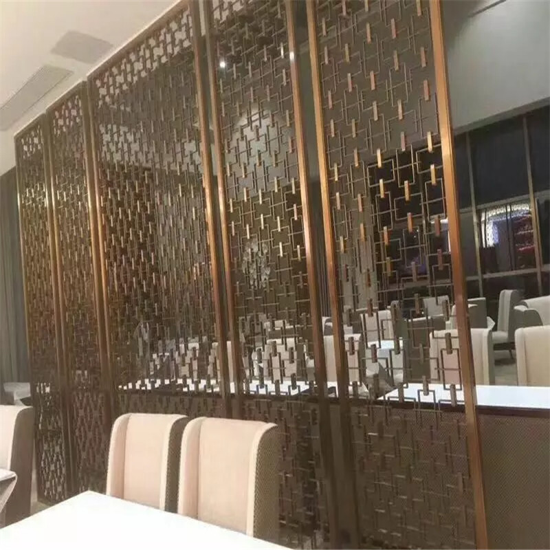 Hot Sale Laser Cut Metal Screen Dividers For Door Panel Or Wall Panel For Sale Stainless Steel
