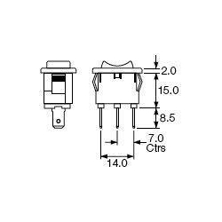 3 Position Rocker Switch On Off 3 Position Door Switch