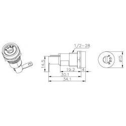 fuse holder for 5x20mm fuse, fuse holder for 5x20mm fuse