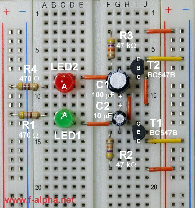 Astable Multivibrator I Circuit Diagram Tradeoficcom