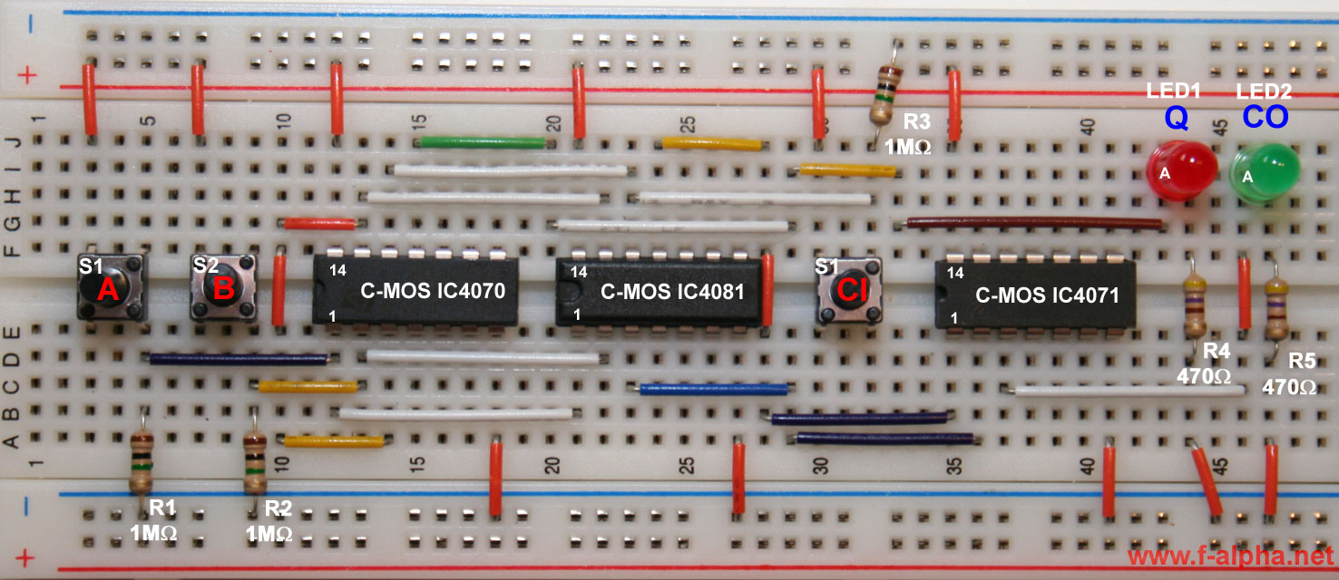 hight resolution of circuit full adder