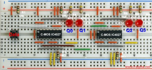 small resolution of circuit 4 bit or mod 16 counter