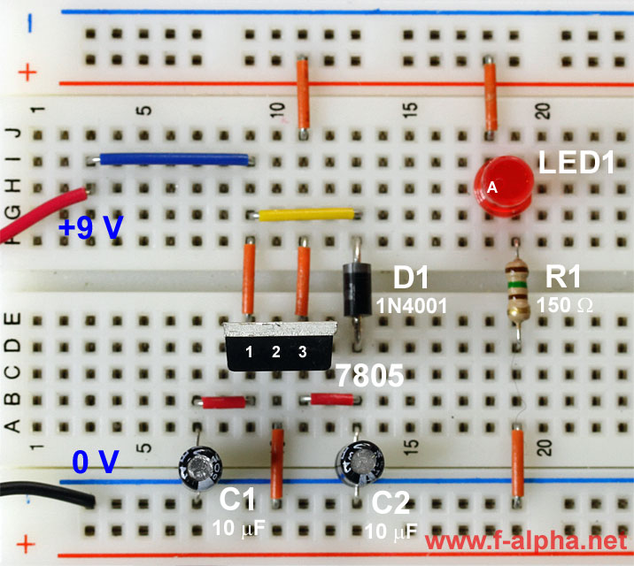 Flyback Regulator Circuit