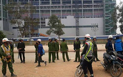 Mass fight breaks out at Samsung plant in northern Vietnam