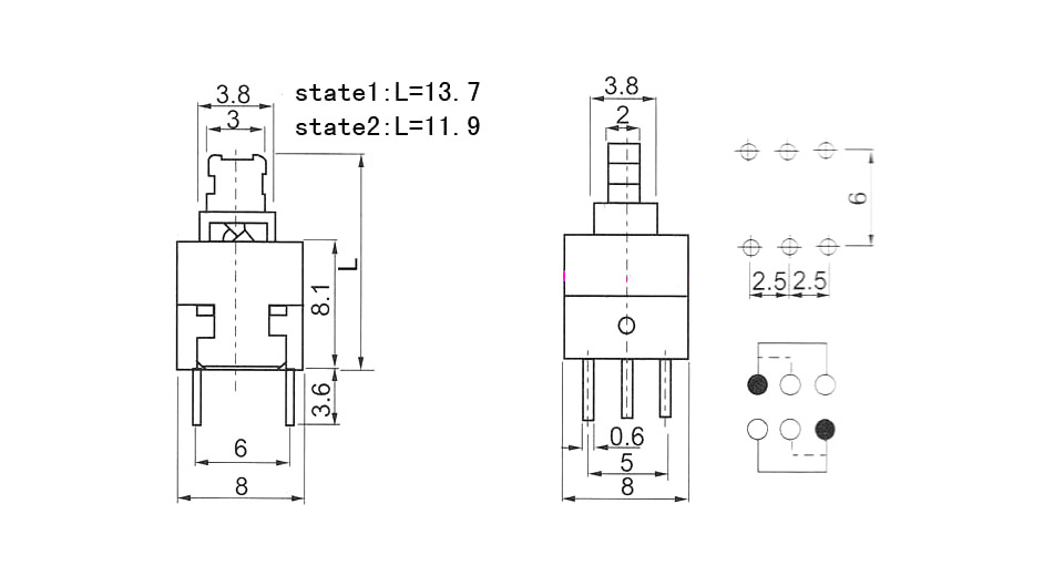 Momentary Switch Latching Relay Wiring Diagram Dpdt Relay