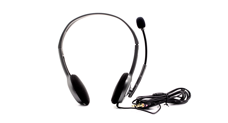$11.81 Genuine Logitech H110 Stereo Headset with
