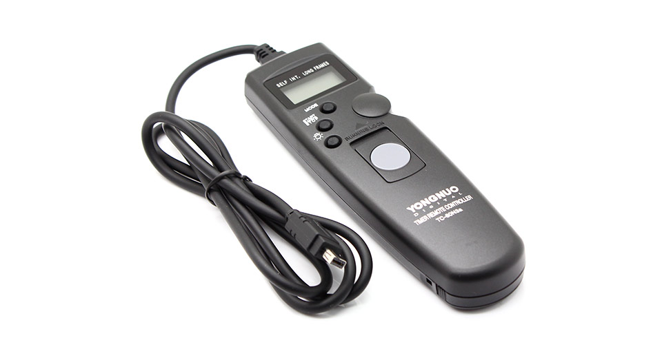 YongNuo TC-80 / N3 Wired Timer Remote Controller for Nikon Digital Cameras