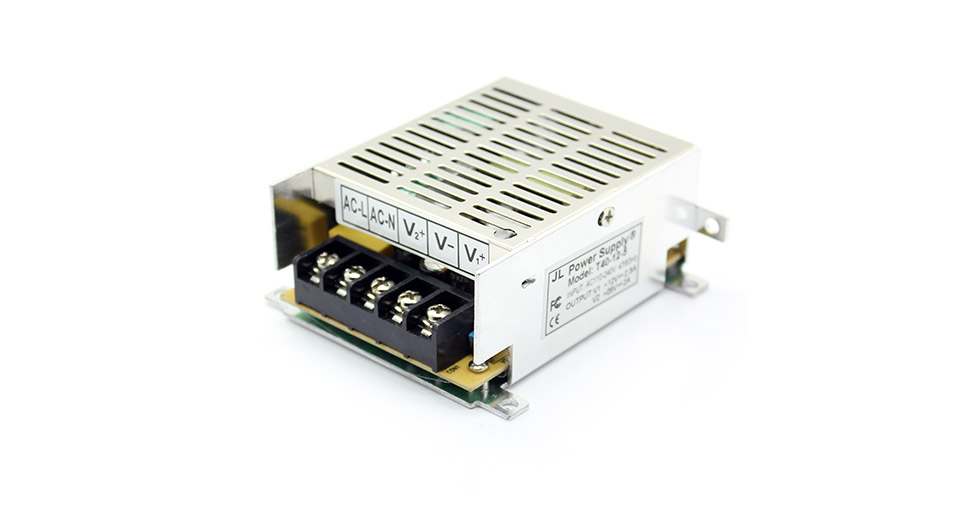 Details About Dc 5v 2a Transformer Regulated Switching Power Supply