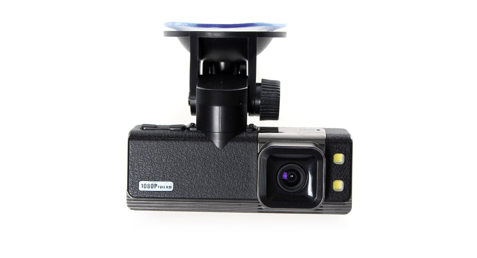 GS2000 1.5 TFT Full HD 1080P Car DVR Camcorder with 2-LED Night Vision