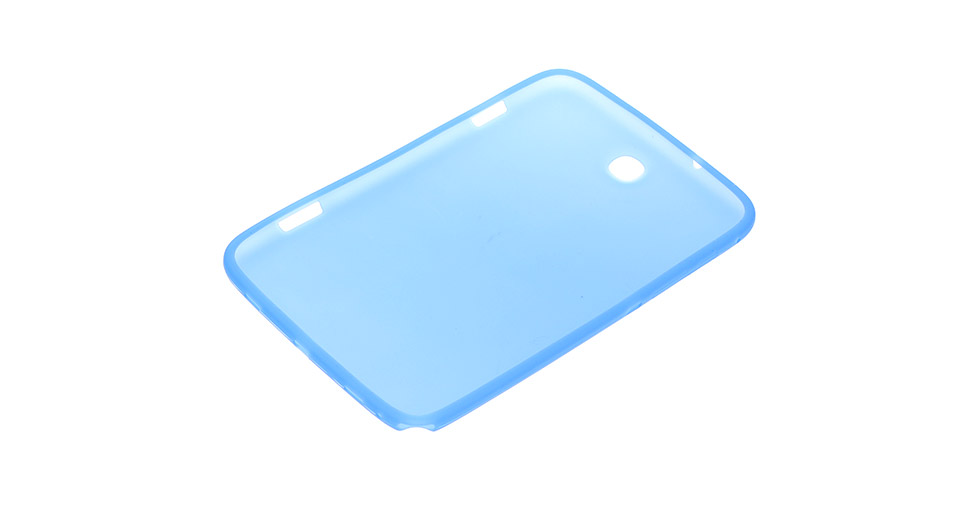 Protective Silicone Back Cover Case for Samsung Galaxy Note 8.0 N5100 / N5110 (Blue)