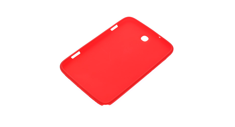 Protective Silicone Back Cover Case for Samsung Galaxy Note 8.0 N5100 / N5110 (Red)