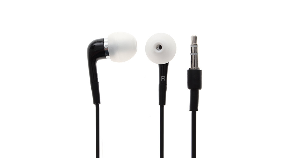 3.5mm In-ear Stereo Earphones with Microphone for iPhone 3G (107cm)