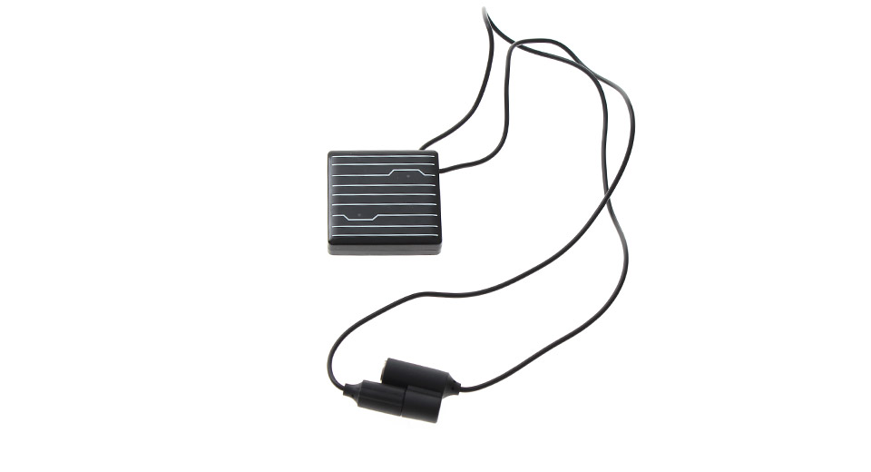 M-80501 Solar Power USB Rechargeable Necklace MP3 Player (4GB)