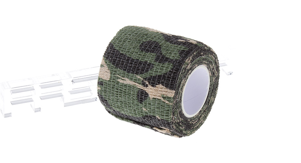5cm*4.5m Camouflage Camo Wrap Stealth Tape for Outdoor Activities