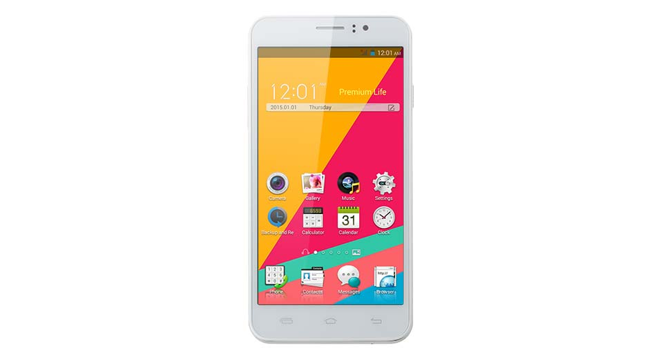 N750 5.5 Screen Dual-Core Android 4.4.3 KitKat 3G Smartphone (4GB)